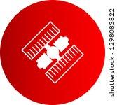 vector satellite icon   | Shutterstock .eps vector #1298083822