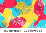 colour abstract splash.... | Shutterstock .eps vector #1298099188