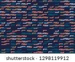 seamless geometric pattern... | Shutterstock .eps vector #1298119912