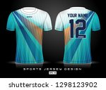 sports jersey template for team ...   Shutterstock .eps vector #1298123902