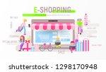 modern flat design concept of... | Shutterstock .eps vector #1298170948
