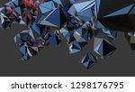 big data abstract background....   Shutterstock . vector #1298176795