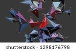 big data abstract background....   Shutterstock . vector #1298176798