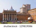 vatican city  vatican  ...   Shutterstock . vector #129819086