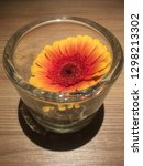 Gerbera Flower In Glass