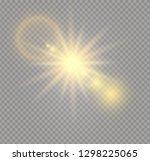 sunlight a translucent special...   Shutterstock .eps vector #1298225065