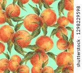 Botanical Seamless Pattern Of...