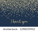 thank you card template with... | Shutterstock .eps vector #1298255932
