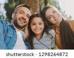 waist up portrait of smiling...   Shutterstock . vector #1298264872