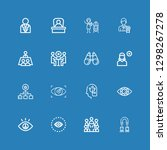 editable 16 resources icons for ... | Shutterstock .eps vector #1298267278