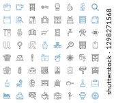 handle icons set. collection of ... | Shutterstock .eps vector #1298271568