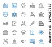 Antique Icons Set. Collection...