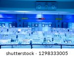 command station for launching... | Shutterstock . vector #1298333005