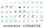 50 weather icons   iconset ...