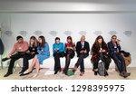 davos  switzerland   jan 24 ... | Shutterstock . vector #1298395975