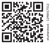 sample qr code icon | Shutterstock .eps vector #1298417512