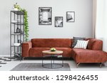 black and white gallery of... | Shutterstock . vector #1298426455
