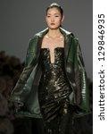 new york   february 12  models... | Shutterstock . vector #129846935