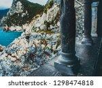 italy  portovenere  the columns ... | Shutterstock . vector #1298474818
