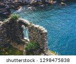 italy  portovenere  church of... | Shutterstock . vector #1298475838