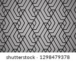the geometric pattern with... | Shutterstock . vector #1298479378