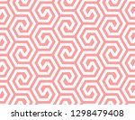 abstract geometric pattern with ... | Shutterstock . vector #1298479408