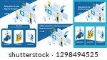 set template article  landing... | Shutterstock .eps vector #1298494525