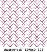 the geometric pattern with...   Shutterstock . vector #1298604328