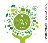 world environment day... | Shutterstock .eps vector #1298650072