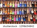 ciutadella  menorca  spain  ... | Shutterstock . vector #1298654842