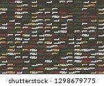 seamless geometric pattern...   Shutterstock .eps vector #1298679775