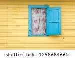 detail shot of colorful wall... | Shutterstock . vector #1298684665