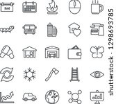thin line icon set   airport...   Shutterstock .eps vector #1298693785