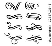 decorative monograms and...   Shutterstock .eps vector #1298713945