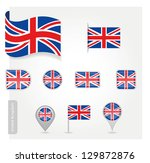 icon uk | Shutterstock .eps vector #129872876