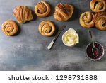 Variety Of Homemade Puff Pastr...