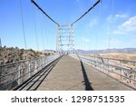 royal gorge bridge over the... | Shutterstock . vector #1298751535
