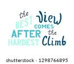 hand drawn vector lettering...   Shutterstock .eps vector #1298766895