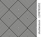 abstract geometric pattern with ... | Shutterstock .eps vector #1298781052