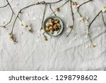 easter holiday spring mood flat ... | Shutterstock . vector #1298798602
