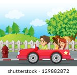 illustratio of a young... | Shutterstock . vector #129882872
