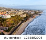 aerial view of san clemente... | Shutterstock . vector #1298852005