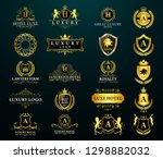 great luxury set  royal and... | Shutterstock .eps vector #1298882032
