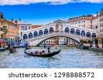 Rialto Bridge And Grand Canal...