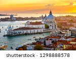 aerial sunset view of venice ... | Shutterstock . vector #1298888578