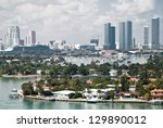 Miami Bay  View From Above Fro...