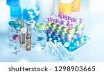 drug prescription for treatment ... | Shutterstock . vector #1298903665