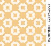 yellow geometric seamless... | Shutterstock . vector #1298913028