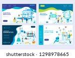 illustration of online medical... | Shutterstock .eps vector #1298978665