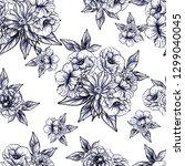 abstract elegance seamless... | Shutterstock . vector #1299040045